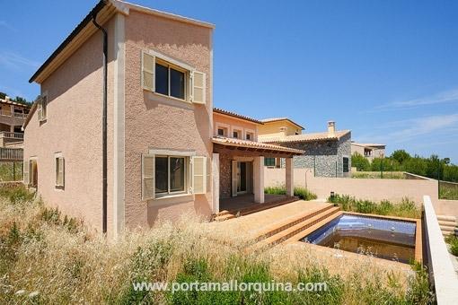 Bezaubernde Villa in Cala Mesquida - Erstbezug