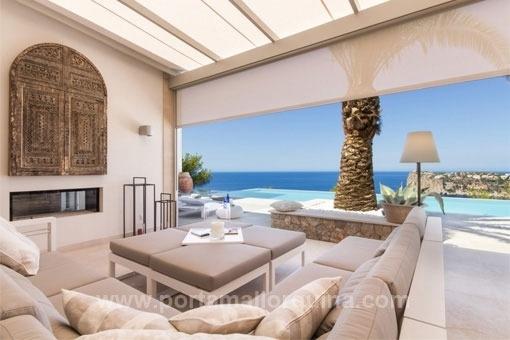 Villa mit einmaligen Sonnenuntergängen in Puerto de Andratx