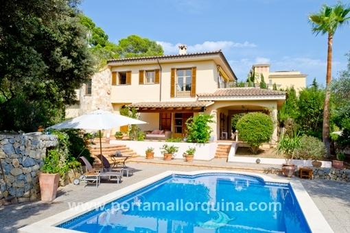 Traumhaus in Palma mit viel Privatsphäre und Pool