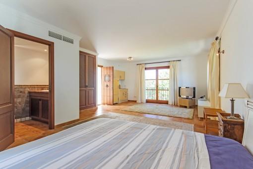 Die Villa ist ideal um viele Gäste zu empfangen