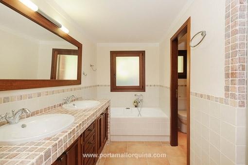 Luxeriöses Badezimmer