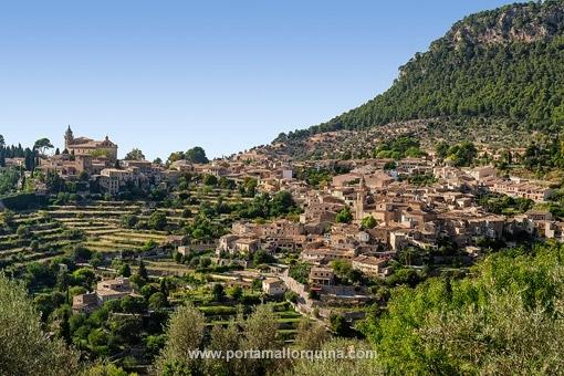 Grundstück mit wunderschönem Blick auf Valldemossa