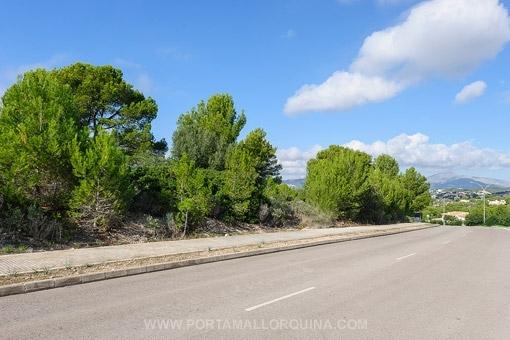 Grundstück in Santa Ponsa in der Nähe des Golfplatzes