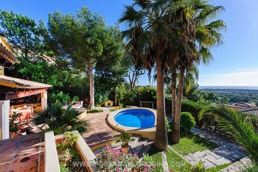 Villa mit fantastischem Meerblick