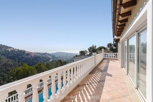 Villa mit Meerblick in der Nähe von Puerto Portals