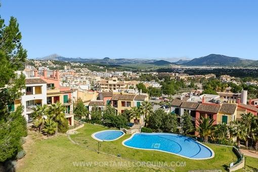 Möblierte Wohnung in Santa Ponsa mit schönem Gemeinschaftspool