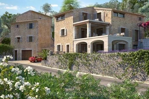 Ansicht der Villa