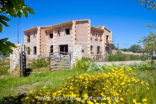 Luxuriöse Neubaufinca im Süden Mallorcas