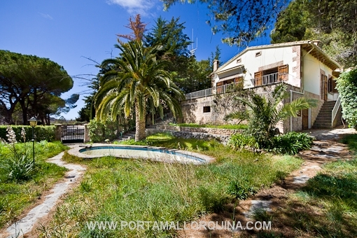 Villa in privelegierter Lage in Valldemossa.