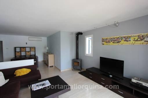 Moderne Wohnung mit Hafenblick in Portocristo
