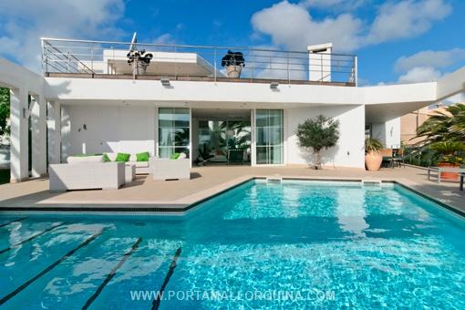 Villa mit Meerblick in Porto Cristo