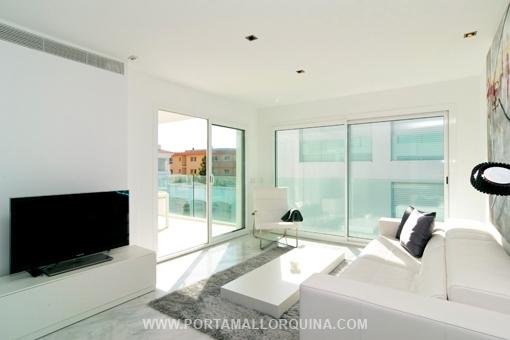 Moderne Wohnung schöne moderne wohnung in bestem zustand in porto cristo