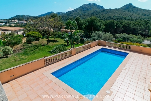Gepflegte Villa am Meer in Font de sa Cala