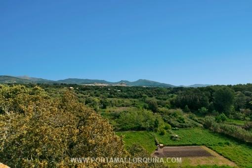 Panorama über das Umland von Artà