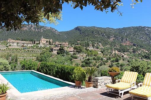 Entzückende Finca in Valldemossa mit Panoramablick