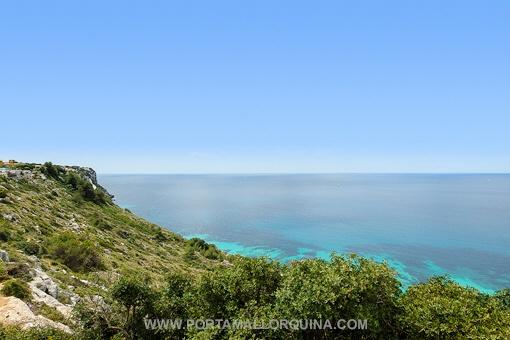 Wunderschönes Grundstück in erster Meereslinie - Puig de Ros