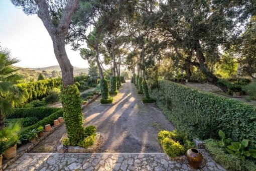 Traumhafter Gartenbereich