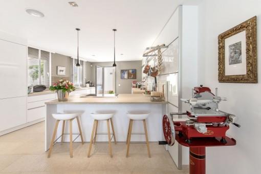 Moderne Küche von höchster Qualität