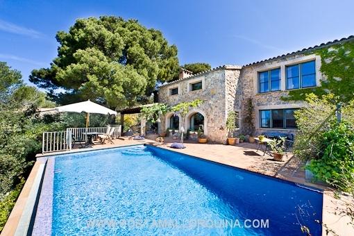 Einladende Villa in Valldemossa von höchster Qualität