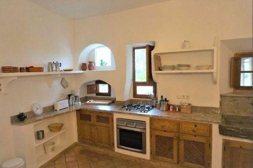 Rustikale Landhausküche