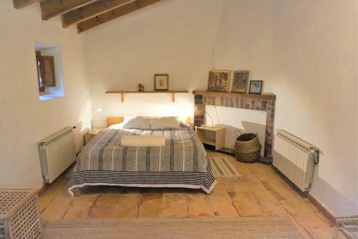 Herrliches Schlafzimmer im Obergeschoss
