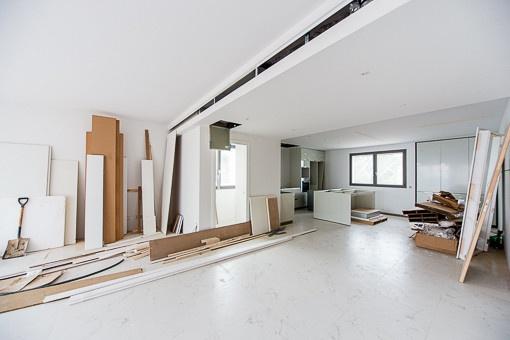 Einige Wohnungen werden noch fertiggestellt