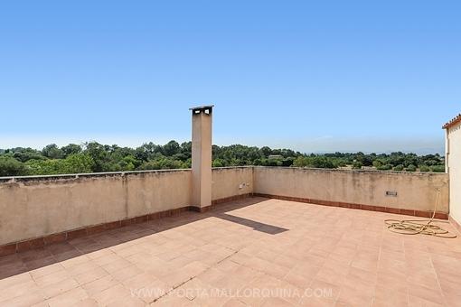 Wundervolle, sonnige Terrasse