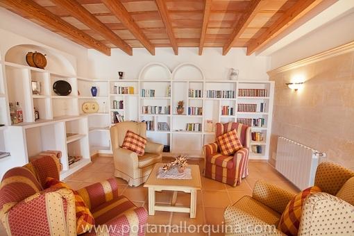 Lounge und Wohnbereich