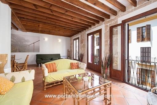 Großzügige und helle Wohnung im Zentrum von Palmas Altstadt