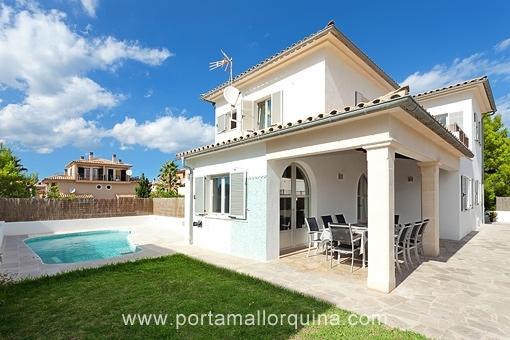 Komfortable, neuwertige Villa in ruhiger Gegend in Can Picafort