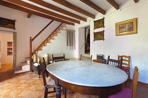 dorfhaus zum renovieren mit meerblick in sa cabaneta kaufen. Black Bedroom Furniture Sets. Home Design Ideas