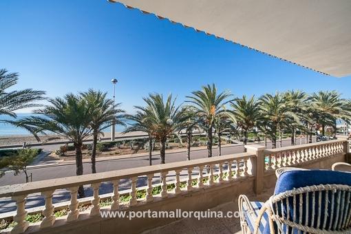 Einzigartiges Chalet in 1. Linie mit eigenem Pool und Tennisplatz - Playa de Palma