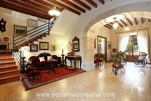 Herrliches Altstadthaus mit großem Patio und Pool im Herzen von Alaró