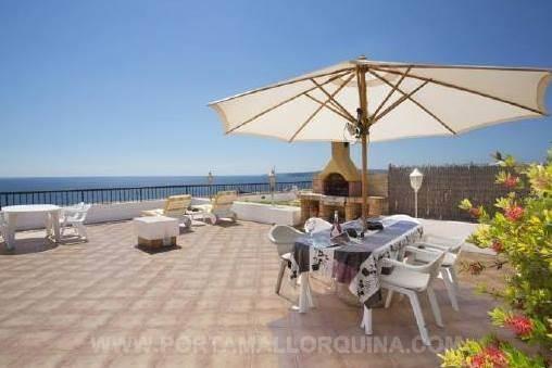Wohnung in beliebter Anlage in Puerto Portals mit traumhaftem Meerblick