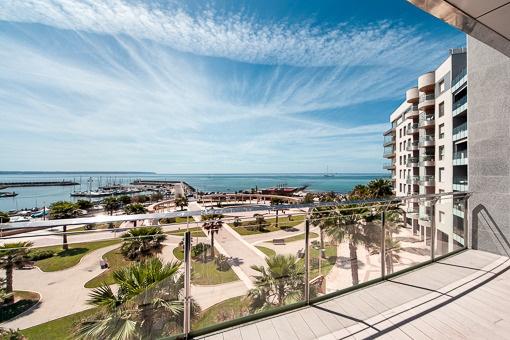 4 Schlafzimmer Luxuswohnung zum Erstbezug direkt am Strand von Portixol