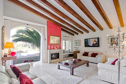 Wunderschöne Villa mit Gästehaus direkt am Golf von Santa Ponsa