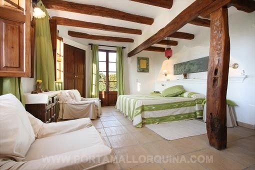 Eines der schönen Schlafzimmer