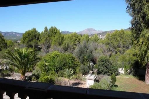 Traumhafter Ausblick vom Balkon aus