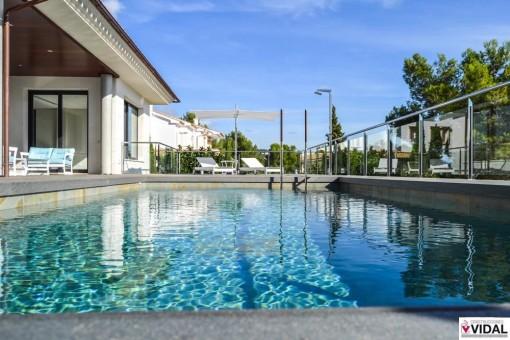 Funktionelle und moderne Villa in Son Vida