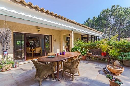 Wunderschönes Haus mit Teilmeerblick in Costa de la Calma