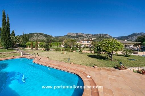 Traumhafte Finca mit Garten und hervorragendem Blick, in der Nähe von Palma