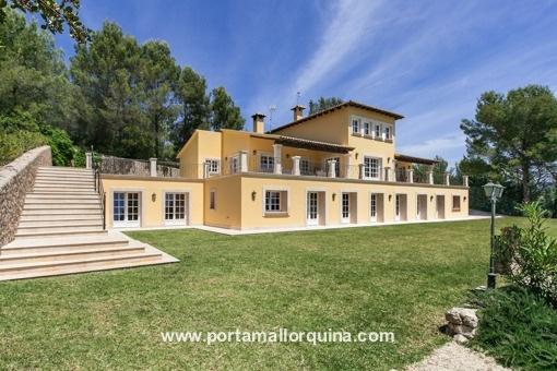Spektakuläre Finca in Esporles, komplett renoviert in der Nähe von Palma