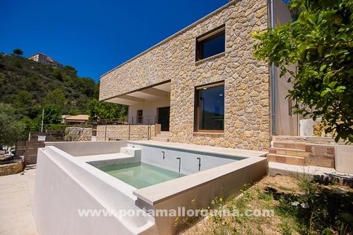 Neubau-Villa mit ökologischer Effizienz in Mancor de Vall