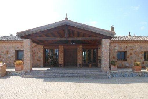 Eingang in das ländliche Anwesen