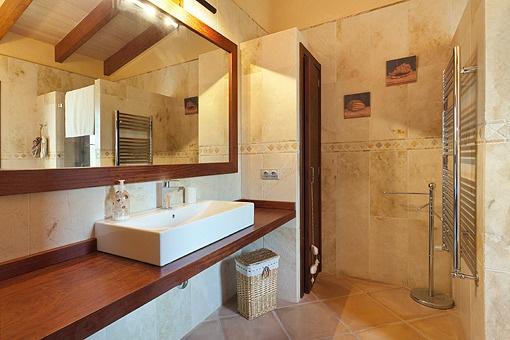 Nur erstklassige Qualitäten im en Suite Badezimmer