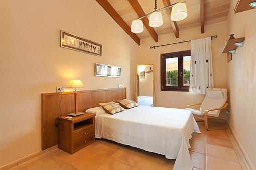 Ein weiteres Schlafzimmer mit viel Liebe zum Detail abgestimmt