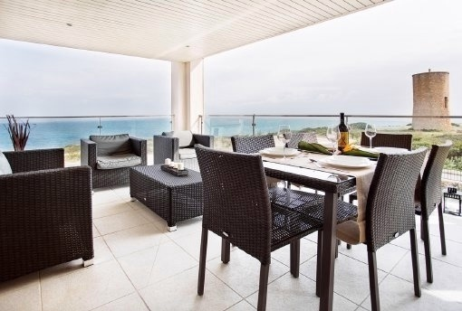 Luxuspenthaus in erster Meereslinie in Porto Cristo