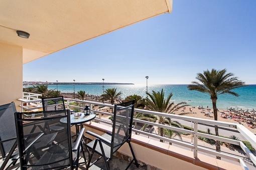 Einzigartige Wohnung in 1. Meereslinie an der Playa de Palma