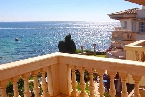 Wunderschöne Wohnung mit Meerblick in erster Meereslinie und 50 m zum Strand in Palmanova