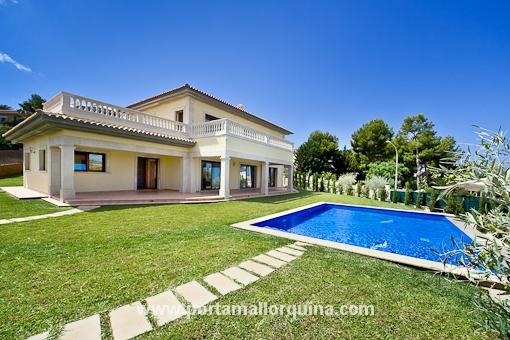 Luxus Neubau-Villa in Santa Ponsa